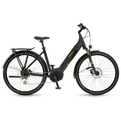 "Winora Yucatan i8 Einrohr i400Wh E-Bike 28"" 8-G Acera 2020 | schwarz matt/glanz"