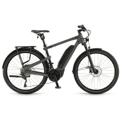 "Winora Yakun tour Herren 500Wh E-Bike 27,5"" 20-G XT 2021 | gunmetal/schwarz"