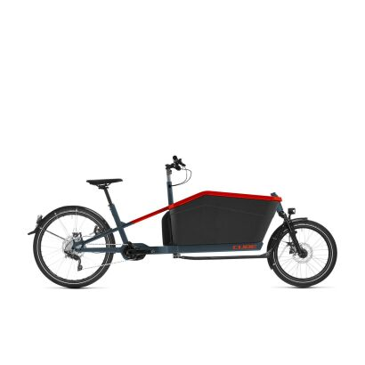 Cube Cargo Hybrid Sport Dual 2021 | blue´n´red