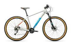 Cube Aim SL MTB Hardtail 2021 | grey´n´blue´n´red