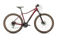 Cube Access WS Exc Damen MTB 2021 | darkberry´n´black