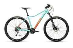 Cube Access WS Pro Damen MTB 2021 | iceblue´n´orange