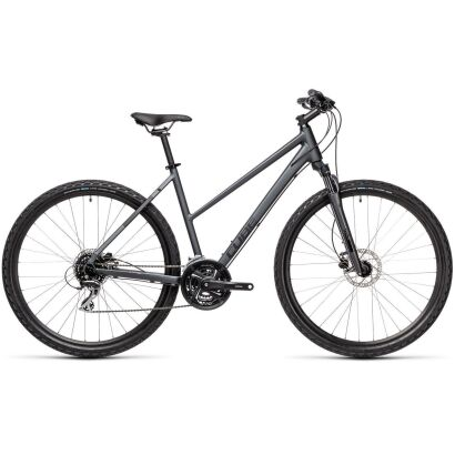 Cube Nature Damen Crossbike 2021 | iridium´n´black