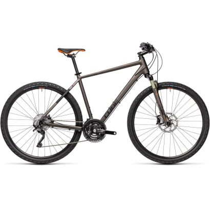 Cube Nature SL Crossbike 2021 | teak´n´orange