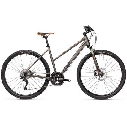 Cube Nature SL Damen Crossbike 2021 | teak´n´orange