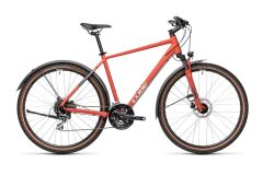 Cube Nature Allroad Crossbike 2021 | red´n´grey