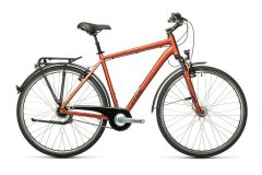 Cube Town Pro City Bike 2021 | red´n´grey