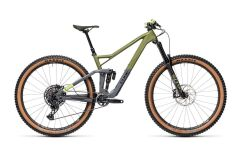 Cube Stereo 150 C:62 Race 29 MTB Fully 2021 | olive´n´grey