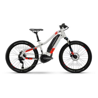 Haibike HardFour 400Wh E-Bike 9-G Altus 2021   cool grey/red/cyan