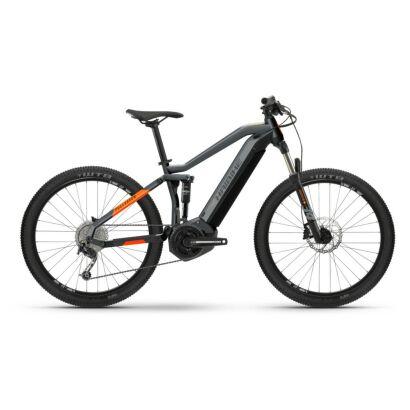 Haibike FullSeven 4 i500Wh E-Bike 10-G Deore 2021   cool grey/lava matte