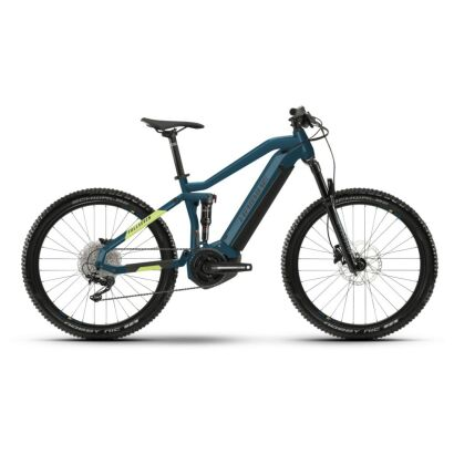 Haibike FullSeven 5 i500Wh E-Bike 11-G Deore 2021   blue/canary