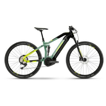 Haibike FullNine 6 i630Wh E-Bike 12-G Deore 2021   defender/black
