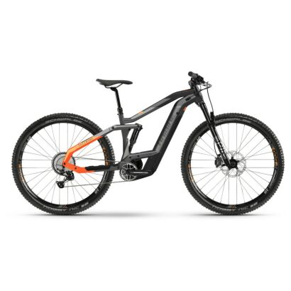 Haibike FullNine 10 i625Wh E-Bike 12-G XT 2021 | titan/black/lava matte