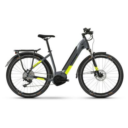 Haibike Trekking 6 i500Wh E-Bike Low Step 10-G Deore 2021 | grey