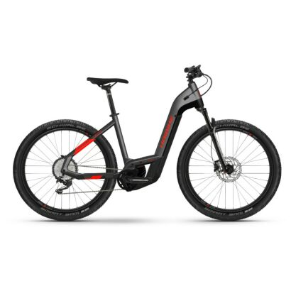 Haibike Trekking 9 Cross i625Wh E-Bike Low Step 11-G Deore 2021 | anthracite/red