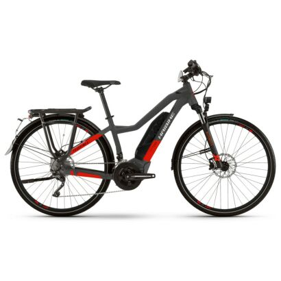 Haibike Trekking S 9 Low Standover 500Wh E-Bike 20-G XT 2021 | anthracite/red