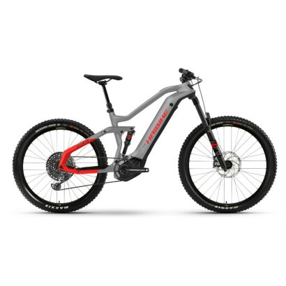 Haibike AllMtn 6 i600Wh E-Bike 12-G GX Eagle 2021 | urban grey/black/red matt