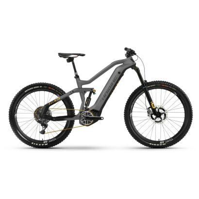 Haibike AllMtn SE i600Wh E-Bike 12-G XX1-AXS 2021 | titan/black/yellow matt