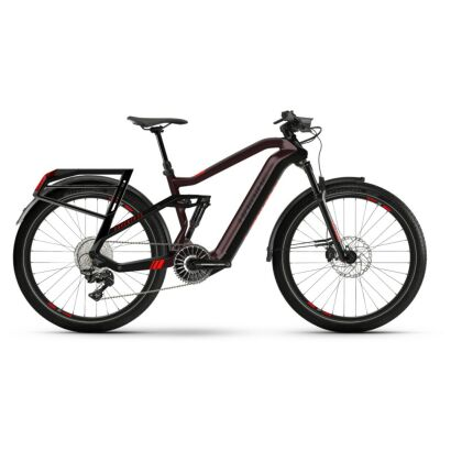 Haibike Adventr FS i630Wh Flyon E-Bike 12-G XT 2021 | chocolate/black