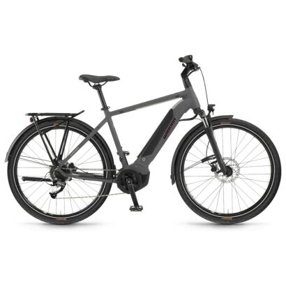 Winora Yucatan 8 Herren i400Wh E-Bike 28 Zoll 8-G Altus 2021 | artichoke matt