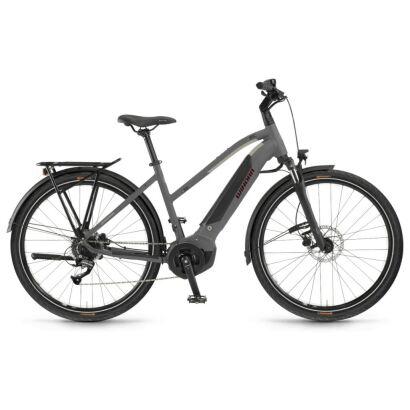 Winora Yucatan 8 Damen i400Wh E-Bike 28 Zoll 8-G Altus 2021 | artichoke matt