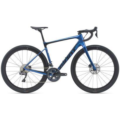 Giant Defy Advanced Pro 1 Endurance Bike 2021 | chameleon neptune / black