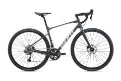 Giant Revolt 0 Gravel Bike 2021   gunmetal black matt