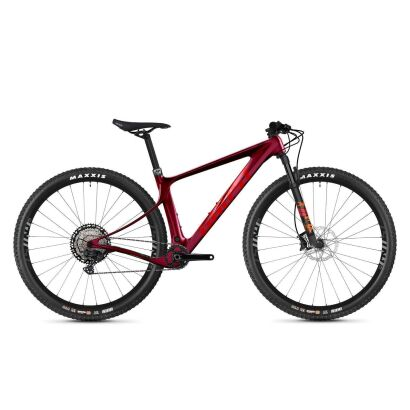 Ghost Lector SF LC Advanced Damen MTB Hardtail 2021   cherry / red