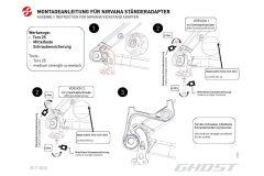 Ghost Kickstand Adapter Nirvana für KSA18...