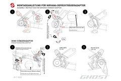 Ghost Kickstand Adapter Nirvana für KSA18 Fahrradständer