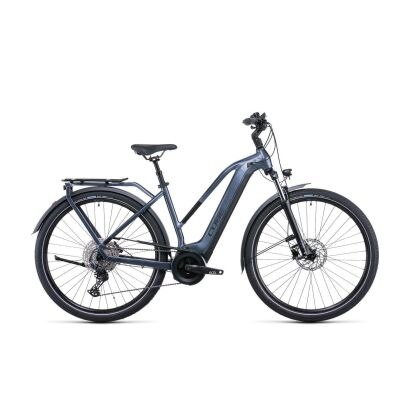 Cube Touring Hybrid Pro 625 Damen Trekking E-Bike 2022 | metallicgrey´n´black