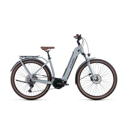 Cube Touring Hybrid Pro 625 Tiefeinsteiger Trekking E-Bike 2022   lunar´n´grey