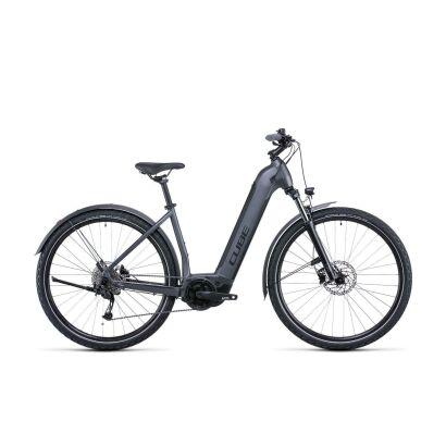 Cube Nuride Hybrid Performance 625 Allroad Tiefeinsteiger Trekking E-Bike 2022 | graphite´n´black