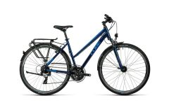 Cube Touring Damen Trekkingrad 2016 | midnight blue metallic