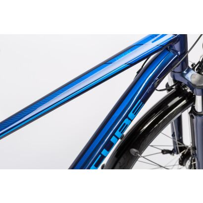 Cube Touring Damen Trekkingrad Tiefeinsteiger 2016 | midnight blue metallic