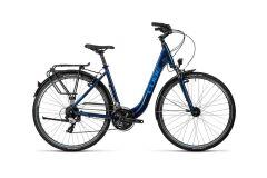 Cube Touring Damen Trekkingrad Tiefeinsteiger 2016 | midnight blue metallic