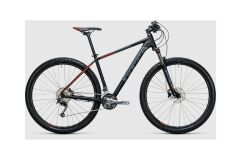 Cube Aim SL 27,5 - MTB Hardtail 2017 black´n´flashred