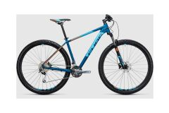 Cube Analog 29 - MTB Hardtail 2017 | blue´n´flashorange