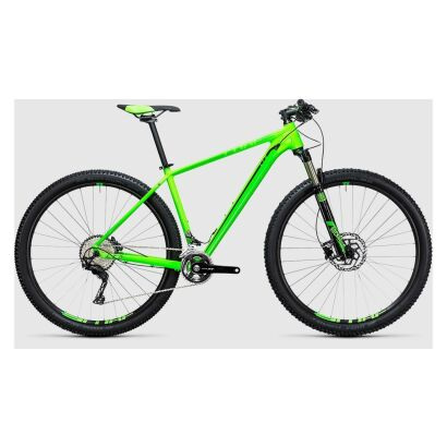 Cube LTD Pro 2x 27,5 - MTB Hardtail 2017 | green´n´black