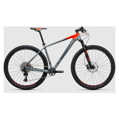 Cube Reaction GTC Eagle 1x 27,5 - MTB Hardtail 2017 | grey´n´flashred