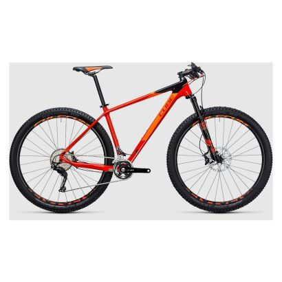 Cube Reaction GTC SL 2x 29 - MTB Hardtail 2017 | red´n´flashorange