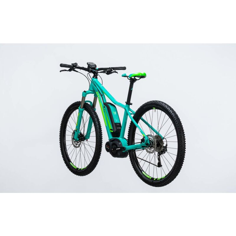 cube access wls hybrid one 400 29er e bike 2017 mint n green. Black Bedroom Furniture Sets. Home Design Ideas