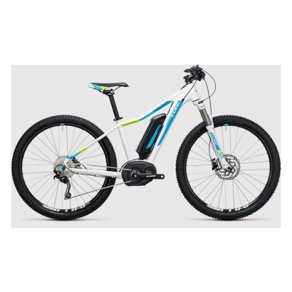 Cube Access WLS Hybrid Pro 400 29er E-Bike 2017 | white´n´blue