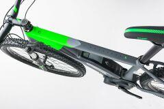 Cube Reaction Hybrid HPA Race 500 29er E-Bike 2017 | grey´n´flashgreen