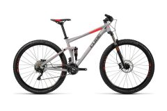 Cube Stereo 120 HPA Pro MTB Fully 27,5 2016 grey´n´flashred