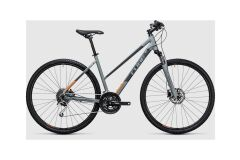 Cube Nature Crossbike Damen 2017 | grey´n´ flashorange