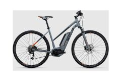 Cube Cross Hybrid ONE 400 Damen E-Bike 2017 | grey´n´orange
