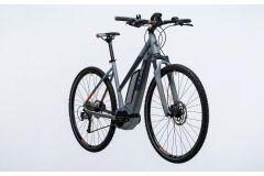 Cube Cross Hybrid ONE 400 Damen E-Bike 2017 | grey´n´orange
