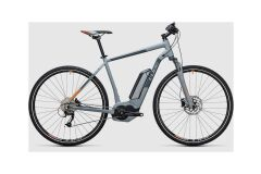 Cube Cross Hybrid ONE 500 E-Bike 2017 | grey´n´orange
