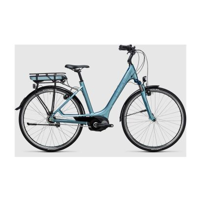 Cube Travel Hybrid ONE 400 Tiefeinsteiger E-Bike 2017 | bluegreen´n´blue